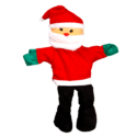 Santa Clause Puppet Toy