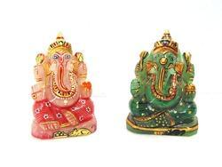 Quartz Painting Ganesh