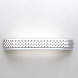 Chrome Honeycomb Bathroom Light