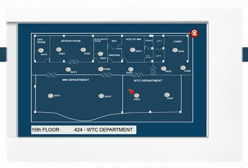 Fire Alarm Panel Graphic Software Fire Alarm Pc Graphic