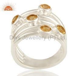 Citrine Gemstone Rings