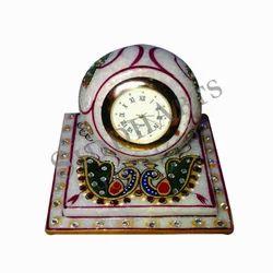 Marble Handicrafts / Clock