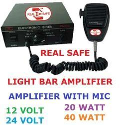 Police Light Bar PA System