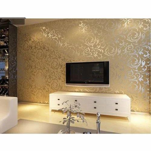 Living Room Designer Wallpaper