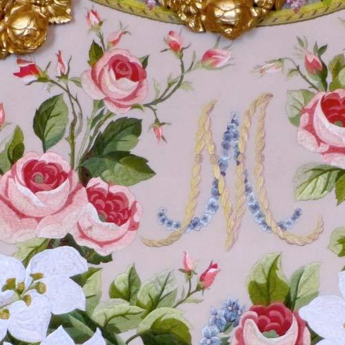 Printed Embroidered Fabric