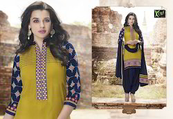 Designer Fancy Patiala Suit