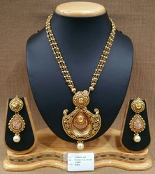 New Designer Polki Necklace Set