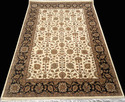 Hand Tufted Silk & Wool Rug