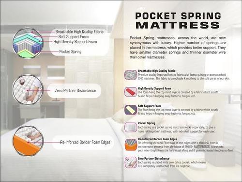 Pocket Spring Plain Mattresses