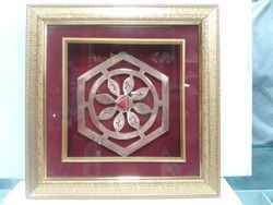 Mangalmay Bhoom Copper Yantra With Frame