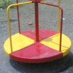 Yellow Red Merry Go Round