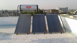 Solar Water Heater - Flat Plate Collector Type