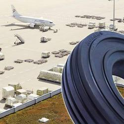 Ground Support Equipment Solid Press- On Tyres