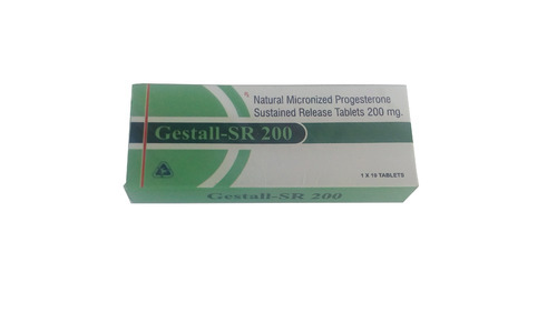 Progesterone 200 mg SR Tablet