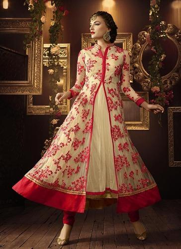 Long Anarkali Designer Suit