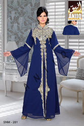 Blue Moroccan Kaftan