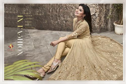 Anarkali Churidar Salwar Kameez Suit