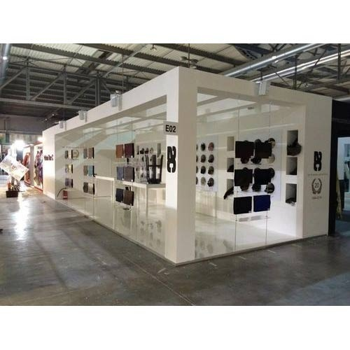 Simple Exhibition Stall : Exhibition stalls designing fabrication corporate exhibition
