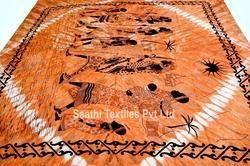Indian Cotton Tapestry, Lizard Dorm Room, Full Size Bedsheet