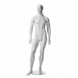 White Matt Adams Male Mannequins