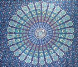 Double Bed Mandala Tapestry