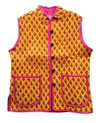 Pink Reversible Quilted Jacket