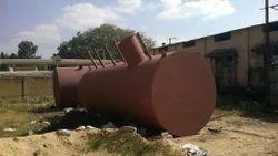 HSD Yard Metal Storage Tanks