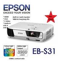 EPSON+Multimedia+Projector+EB-S31
