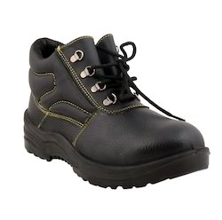 High Ankle Leather Safety Shoe