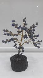 Lapis Beads Money Tree
