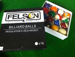 China Pool Ball Set 2-1/4