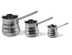 SS Wire Handle 3 Pcs Coffee Warmer