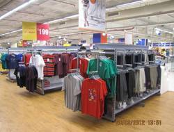 Supermarket Garment Racks
