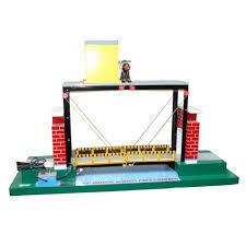 Lift Bridge Across A Port Channel - Model