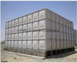 GRP Fire Fighting Water Storage Tanks