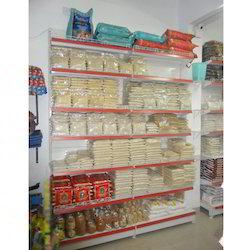 Supermarket Metal Shelves