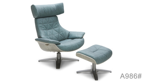 Kuka Newburg Italian Leather Relaxing Chair