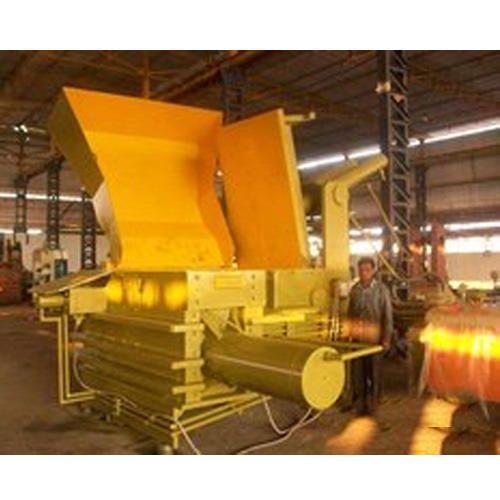 Hydraulic Scrap Baling Press Triple Action Jumbo