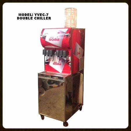 Soda Shop Machine YVEC-7(6 1) Double Chiller