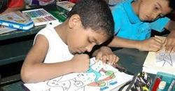 childrens rights through artwork project