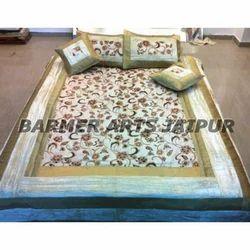 Velvet Border Bed Cover