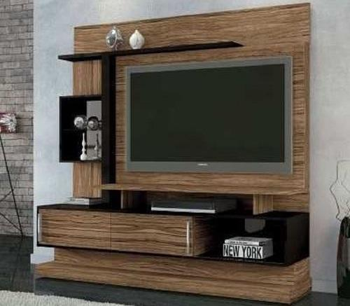 Designer led tv panel flat panel television stand Tv panel furniture design