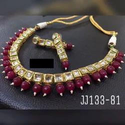 Ruby Kundan Necklace