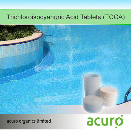 Swimming Pool Chemicals Trichloroisocyanuric Acid Tablets Tcca Wholesale Supplier From New Delhi