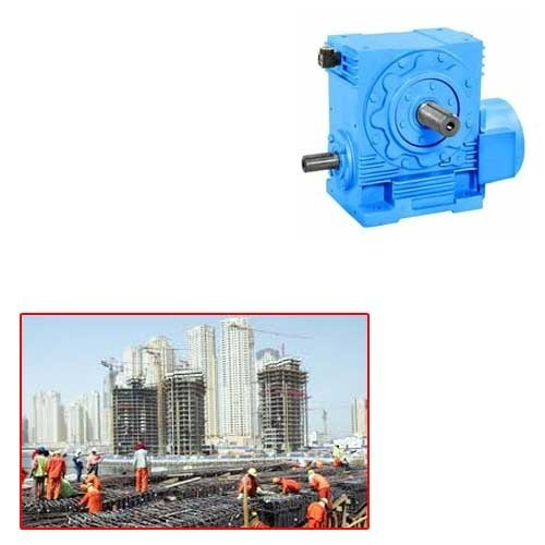 Worm Reduction Gearbox for Construction Industry