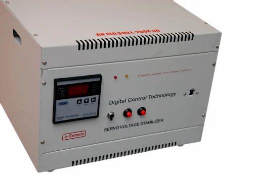 Servo Voltage Stabilizer - Single Phase