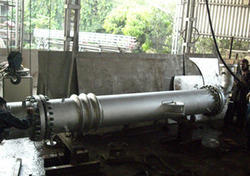 Heat Exchanger with Triple Expansion Bellows