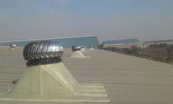 Wind Ventilators with FRP Base