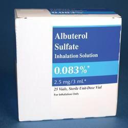 albuterol sulfate inhaler