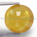 5.73 Carats Yellow Sapphire